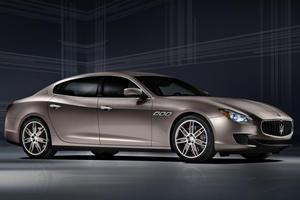 Maserati Unveils Quattroporte Diesel and Zegna Concept