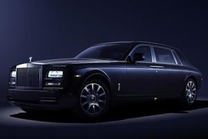 It's Nighttime All Day Long in Rolls-Royce Celestial Phantom