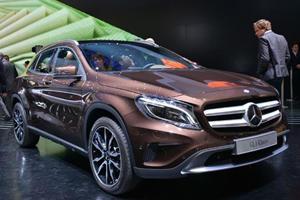 Frankfurt Makes Room for New Mercedes GLA