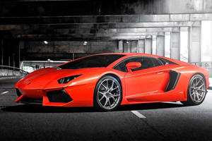 Vorsteiner Tackles the Lamborghini Aventador