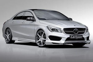 Mercedes CLA Caressed by Carlsson