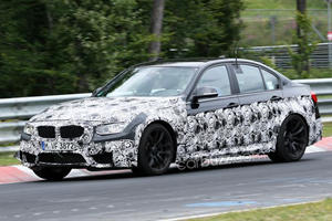 New BMW M3 Caught on the Highway
