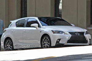 2014 Lexus CT 200h Spied on Official Photo Shoot