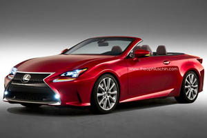 Lexus RC Looks Great Even as a Convertible