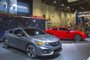 Honda Gives the Civic Coupe Another Refresh