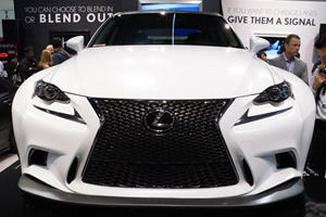350 F Sport Proves Lexus is Now Cool