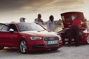 Audi Pits the Quattro Sport Against the S3