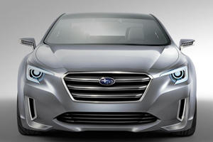 Subaru Reveals Sleek 2015 Legacy Concept