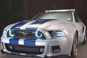 """""""NFS"""" Mustang to be NASCAR Pace Car"""