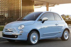 Fiat 500 1957 Edition is a Fifties Fantasy