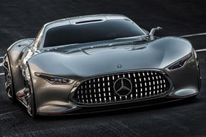 Mercedes AMG Unveils a Vision to Behold