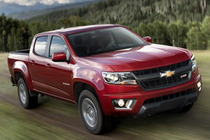 This is the 2015 Chevrolet Colorado