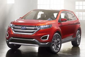 Ford Edge Previews Future Tech and Design Direction