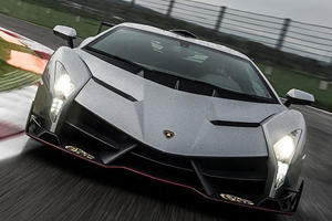 Veneno Used for Customer Test Drives