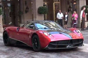 Transformers 4 Pagani Huayra Spotted in Beverly Hills