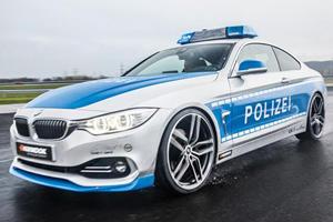 AC Schnitzer Rocks Essen with BMW 4 Series Police Car