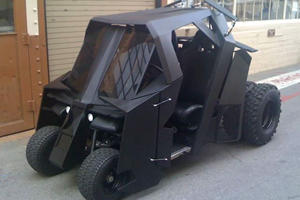 How Batman Gets Around on the Golf Course