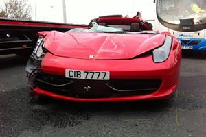 RIP: Ferrari 458 Italia