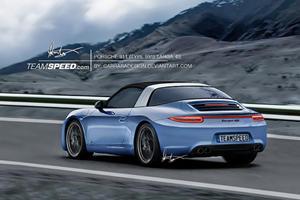 Rumor: Retro Targa Roof on the Next Porsche 911