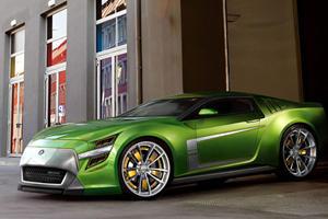 A Future Muscle Car Concept: Jakusa Bossco