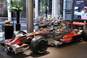 McLaren Vies for Italy's Pole Position