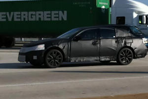 Spied: 2012 Lexus GS