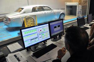 Testing the Rolls-Royce 102EX Phantom Experimental Electric
