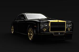 Design Study: 2011 Rolls Royce Phantom TB Gold Edition