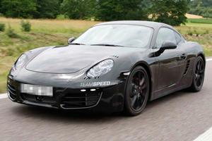 Spied: 2013 Porsche Cayman