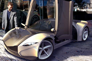 Dubuc Building $30k Sexy Sports Car Kit for North America