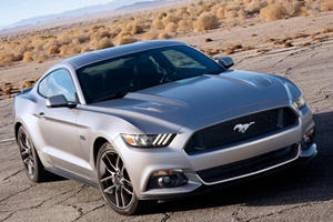 Ford Takes 2015 Mustang to Route 66