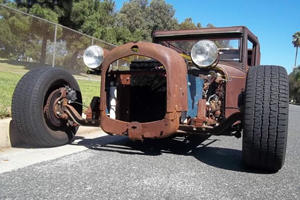 Rusted Rad Rod is Dripping with American Coolness