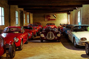 This Castle Houses One of the Most Glorious Italian Car Collections