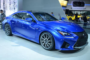 Lexus RC F is Here to Bust Some BMW M4 Balls