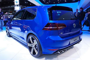 VW's Flagship Golf R Lands in Detroit; Hitting US Showrooms 2015