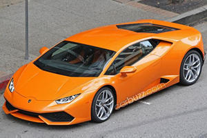 Double-Feature: Orange Huracan Spy Pics AND Video