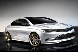 Teased: Mopar Chrysler 200 Will Let Loose at Chicago Auto Show