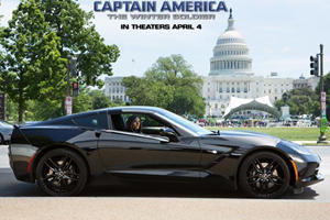 SHIELD's Black Widow Gets Blacked-Out Stingray for New Captain America