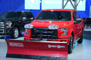 Snow Plow Turns All-New Ford F-150 into Winter Warrior