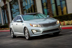 Kia Facelift Optima Hybrid in Time for Chicago