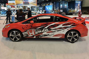 One-Off Forza Civic Si Coupe Unveiled in Chicago