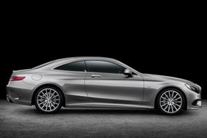 Mercedes S-Class Coupe Breaks Cover