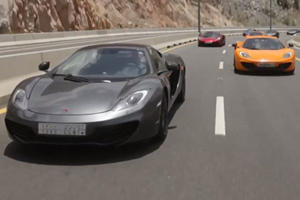 A Saudi Arabian Road Trip Requires a McLaren 12C