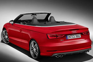 Audi S3 Cabrio Drops Ahead of Geneva Debut