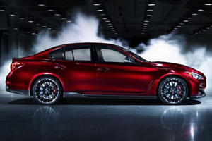 Teaser: Infiniti Q50 Eau Rouge Sounds Like a...?