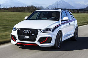 ABT Boosts Audi RS Q3 to 410HP in Time for Geneva