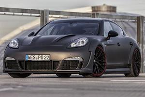 Prior Design Gives Porsche Panamera the Widebody Treatment