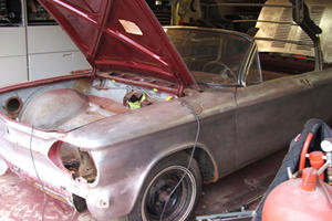 Unearthed: 1963 Chevrolet Corvair Spyder