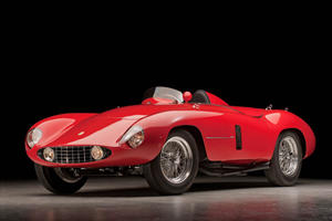 Up For Auction: 1955 Ferrari 750 Monza Spider at Pebble Beach
