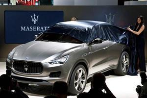 Maserati Countdown: Levante Next Year, Alfieri in 24 Months